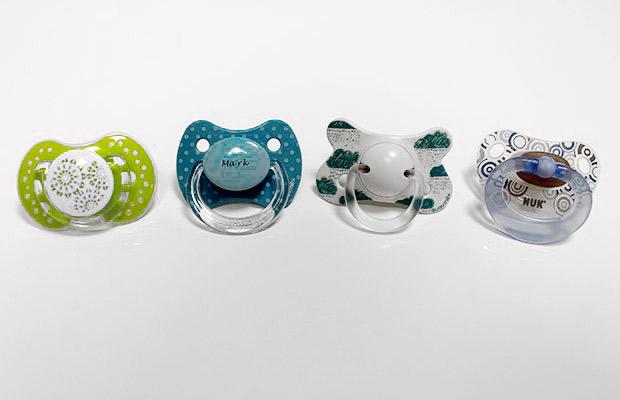 Tipos de chupete para tu bebe