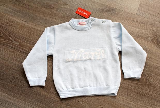 Jersey personalizado para bebe Doña Carmen
