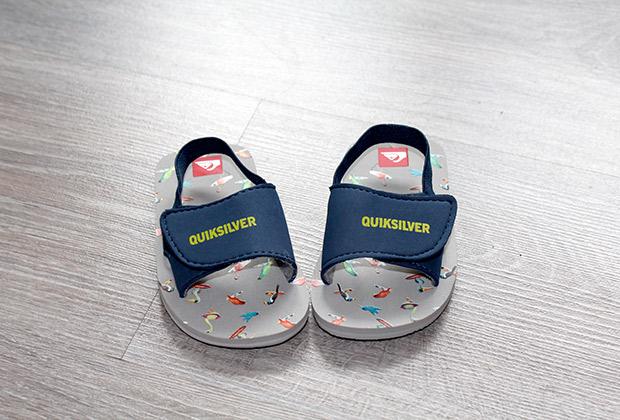 Chancletas Quiksilver para bebe - verano