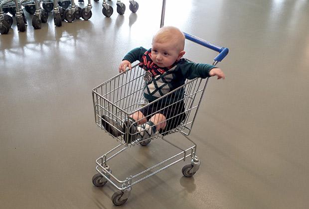 Mark y su primera visita a Ikea