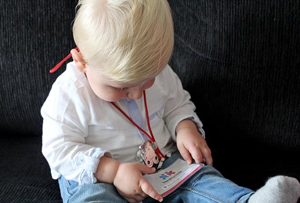 El bebé Mark en el congreso de Trending Tools
