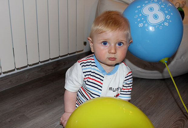 El primer año de vida de un bebé llamado Mark