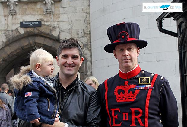 El chupete de Mark en La torre de Londres