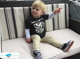 Outfit para bebés y niños, Transformers y Darth Vader