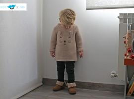 Outfit para bebés y niños con el chupete de Mark