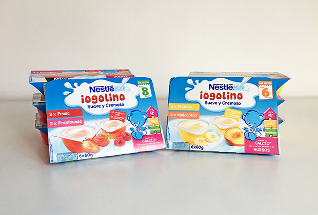 El chupete de Mark probando Iogolino de Nestlé. #iogolino #supermamis