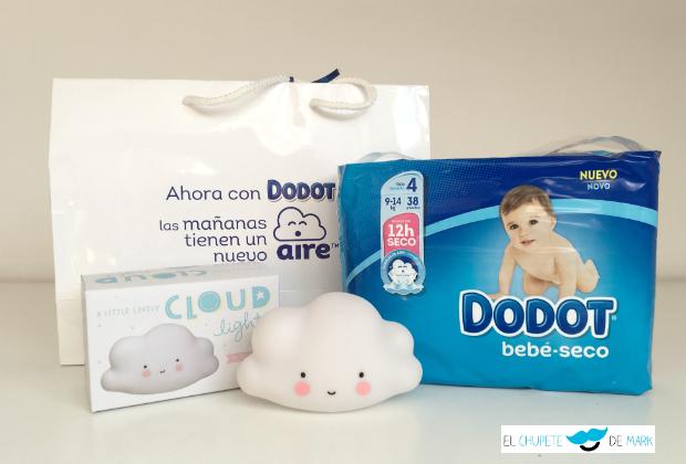 Probando el nuevo Dodot bebé-seco