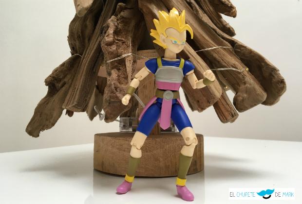 El chupete de Mark y las figuras Deluxe Dragon Ball de Bandai